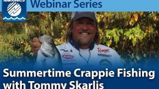 Navionics Webinar | Summertime Crappie Fishing
