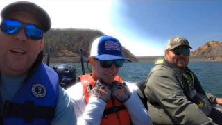 Fishing Melones for Team Mason