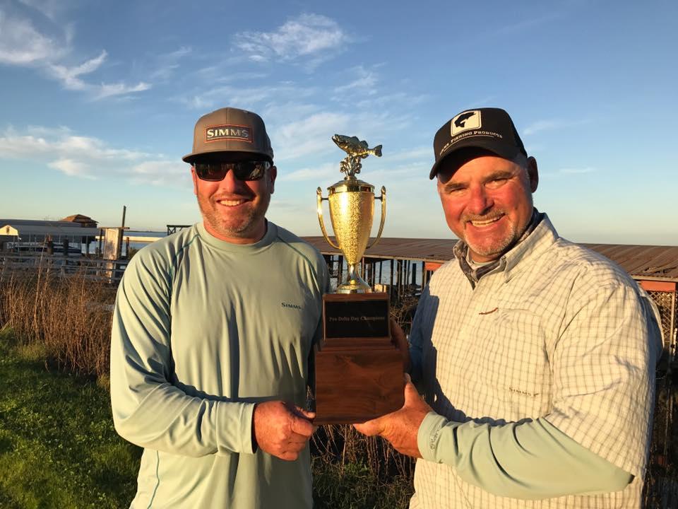 Brett hite and bobby barrack win on the california delta for Delta pro fishing