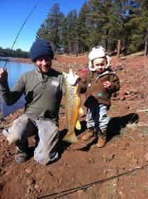 Try arizona 39 s dogtown reservoir before dog days of summer for Fishing in williams az