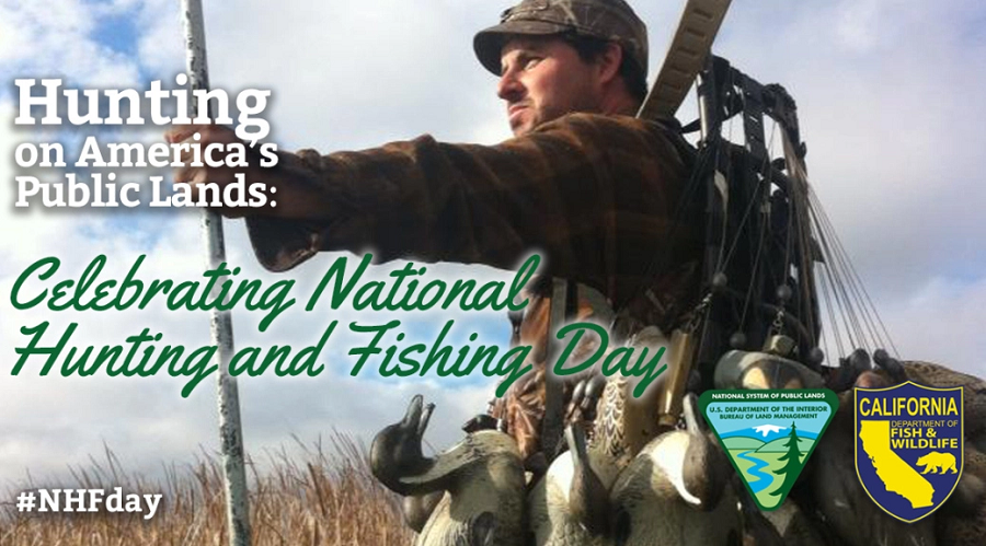 Today is national hunting and fishing day for Is today a good day to fish