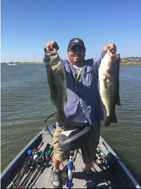 Comprehensive delta fishing report update week of july 7 for Fishing report delta