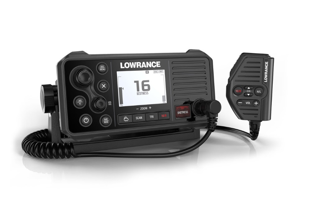 link 9 fixed mount vhf radio released from lowrance. Black Bedroom Furniture Sets. Home Design Ideas