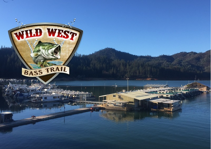 Lake shasta welcomes wild west bass trail pro am opener for California fishing season 2017