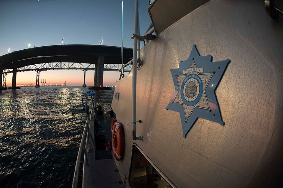 Cdfw Patrol Boat Marlin And Other Law Enforcement Set Up