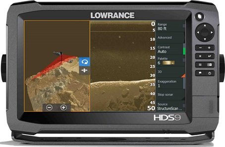 lowrance® launches three-dimensional sonar – structurescan® 3d, Fish Finder