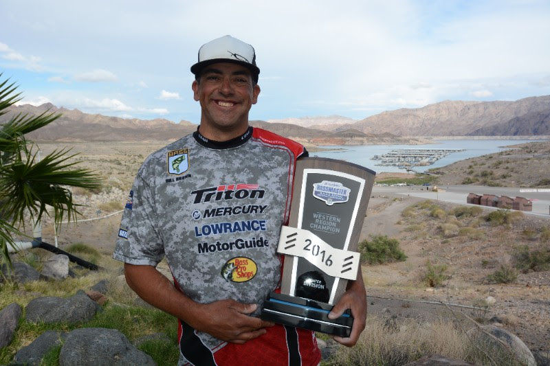 Brown wins b a s s western regional on lake mead for Lake mead fishing guides
