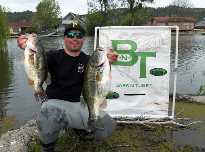 Kevin marcheschi wins 3rd straight bass n tubes open at for Opening day fishing 2017 washington