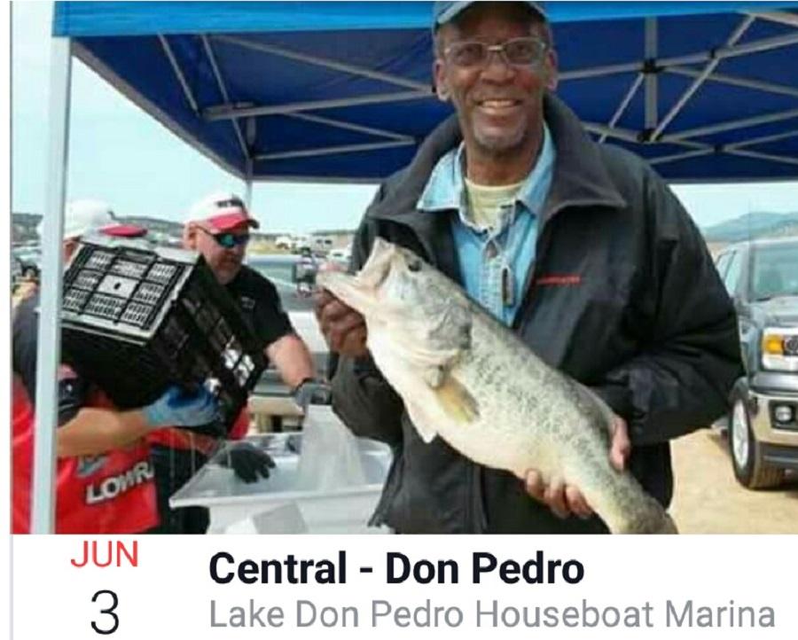 Bbt central region don pedro june 3 for Don pedro fishing report
