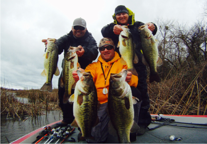 Comprehensive delta fishing report update feb 25 for Fishing report delta