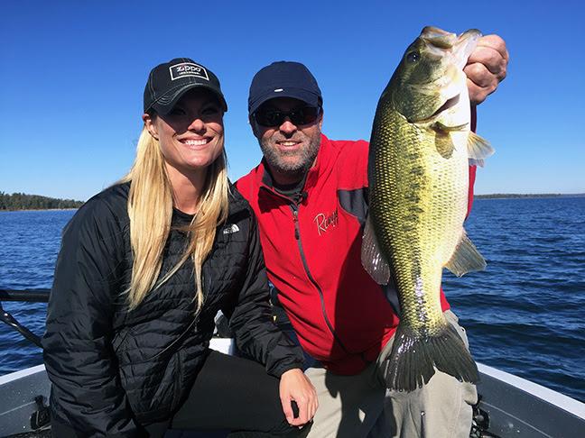 Early season jerkbait bass for Bass fishing season