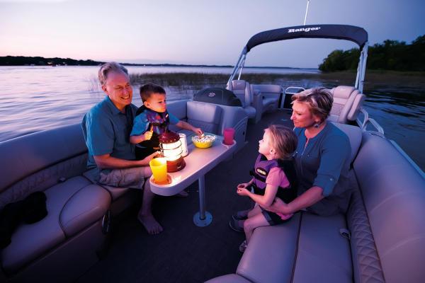 Fish & Cruise Pontoon Models From Ranger Boats | Westernbass com