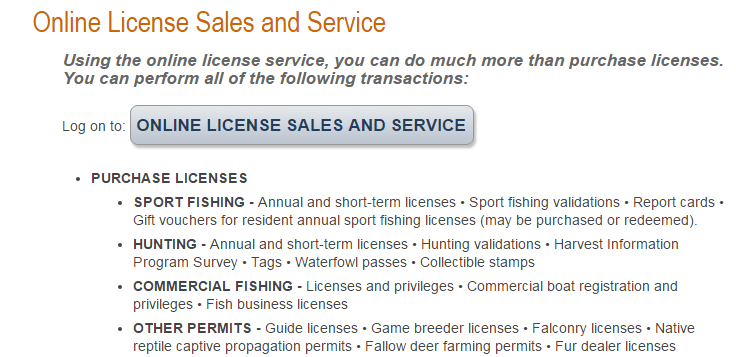 New Year Means New Fishing License | Click and Print Online