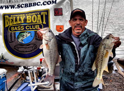 To win sonoma mike ayers claims scbbbc victory for Lake sonoma fishing report