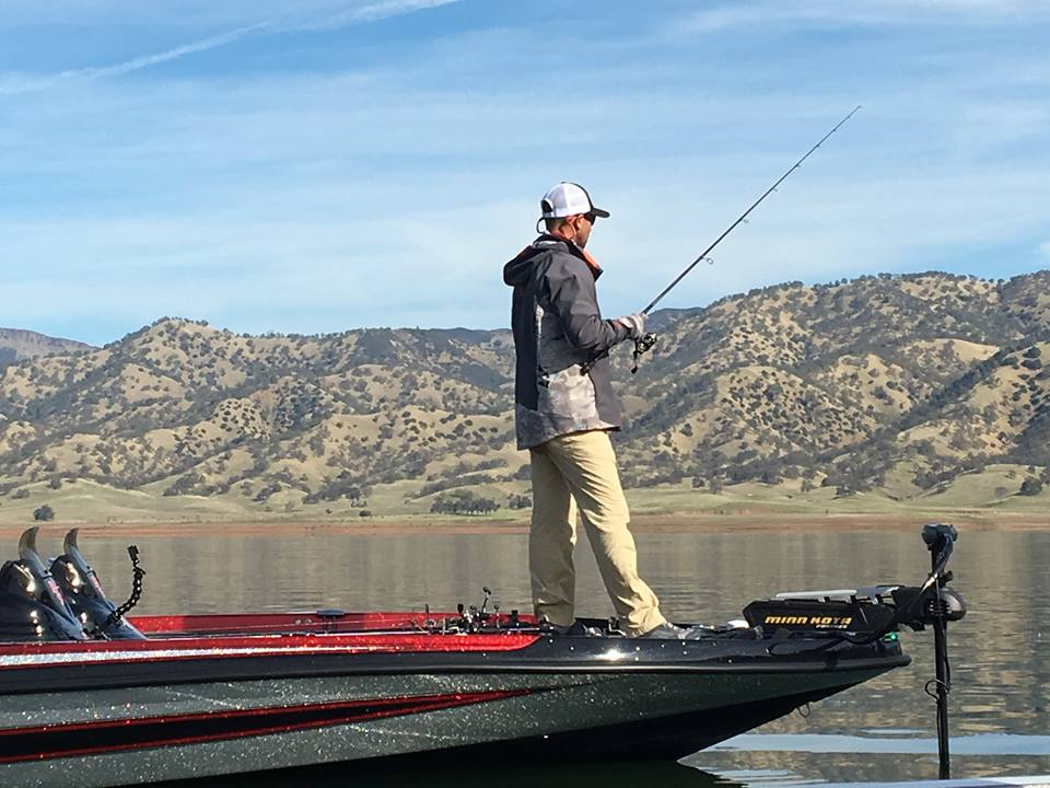 Iaconelli on berryessa boatmasters basscat and bass for Berryessa fishing report