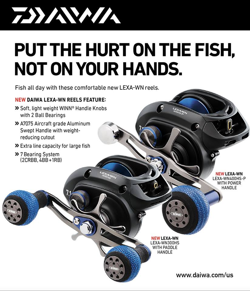 Put the hurt on the fish not on your hands daiwa for Used electric motors portland oregon