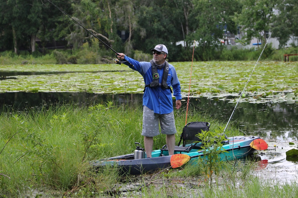 Old Town Kayak in Action | Westernbass com