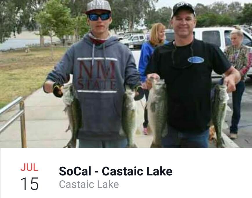 Bbt castiac july 15 for Castaic fishing report
