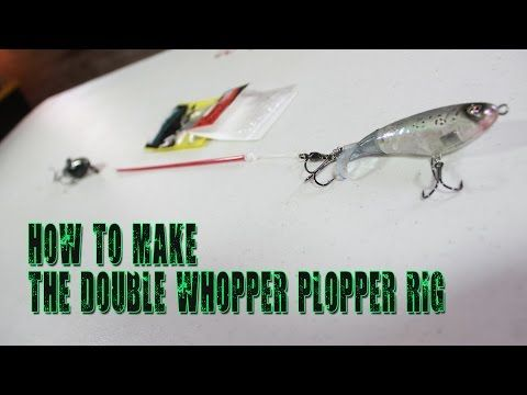 Tackle How-To: Make a R2S Whopper Plopper Rig for Topwater ...
