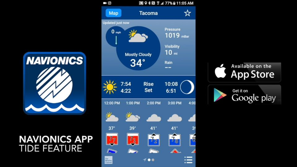 Tide Charts At Your Fingertips How To Navionics Mobile App