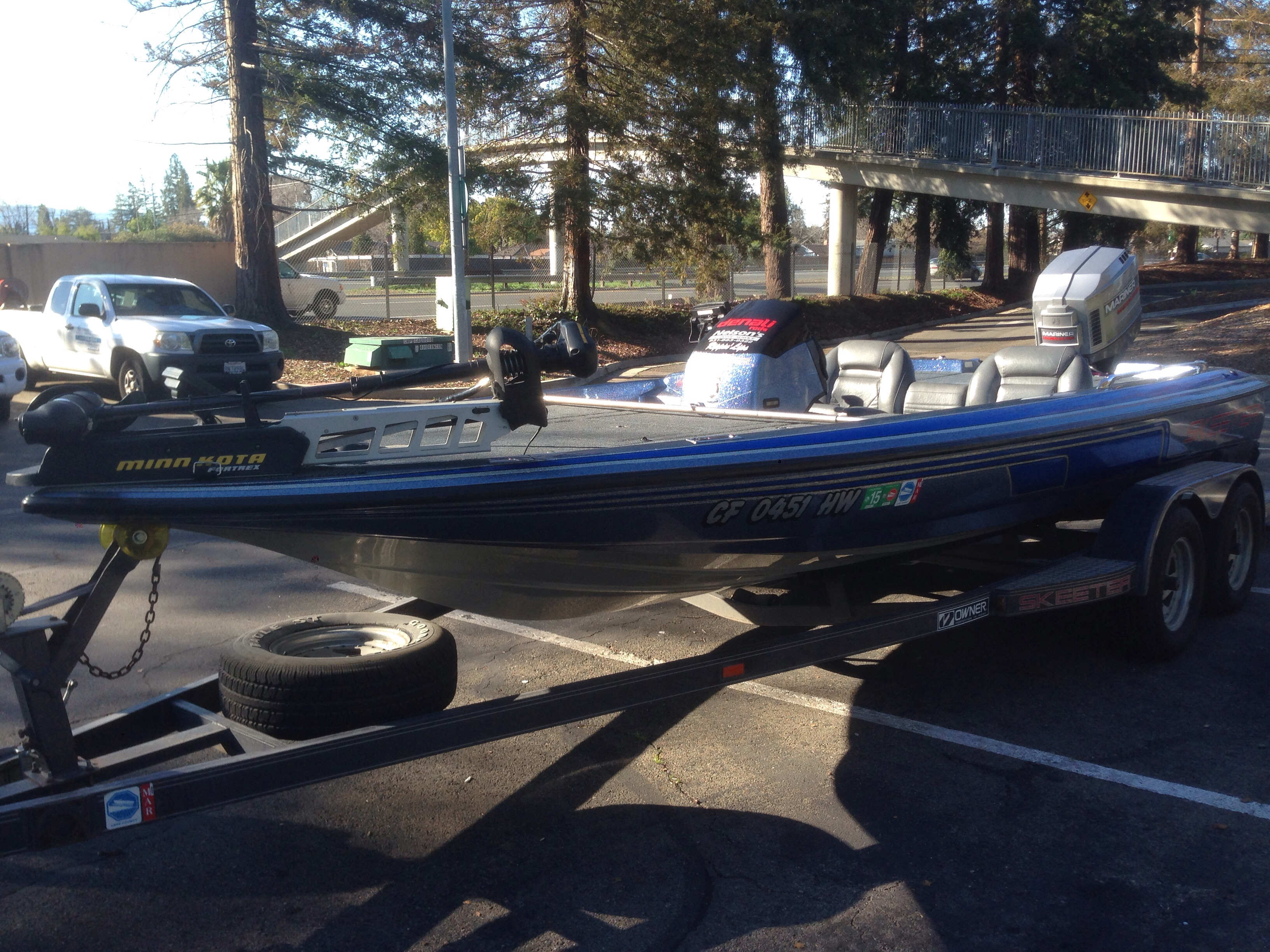 1996 Skeeter ZX200 w/ Mercury Mariner 200 EFI SOLD! - Bass